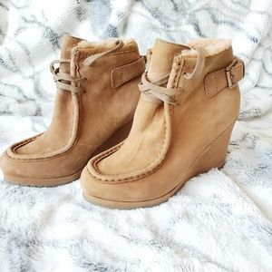❗LK Bennett Fur Lined Charing Boot
